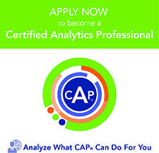 Become a Certified Analytics Professional