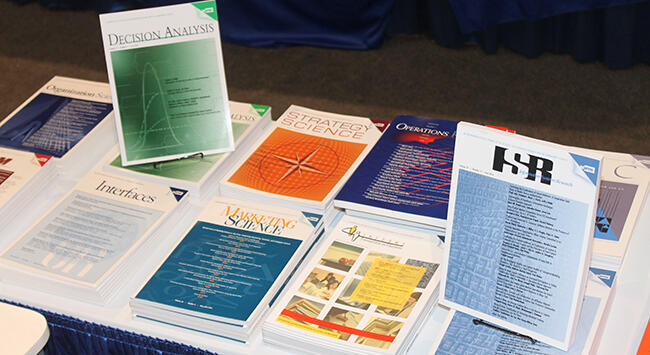 Advertise in INFORMS Publications