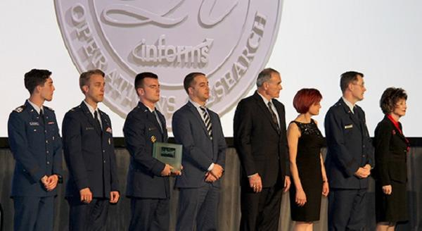 Air Force, Walt Disney Co. receive operations research award