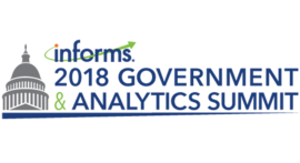 General Michael Hayden and former Secretary Anthony Foxx to Address INFORMS 2018 Government and Analytics Summit in Washington, D.C. on May 21