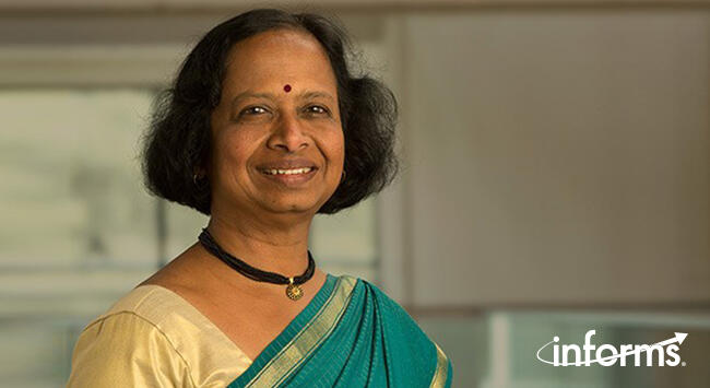 Retired VP of Advanced Analytics R&D at SAS Institute, Radhika Kulkarni, elected president-elect of INFORMS