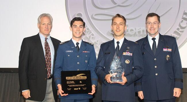 U.S. Air Force Academy awarded the 2017 UPS George D. Smith Prize