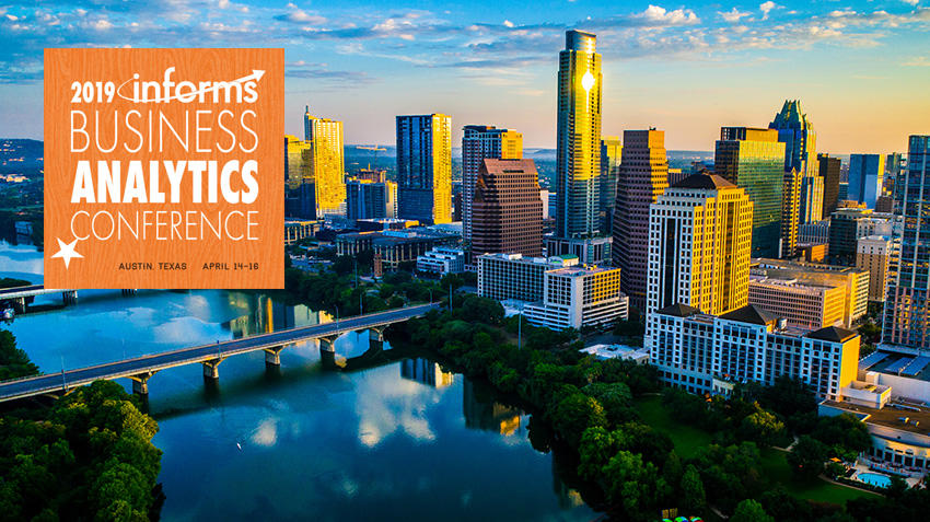 Join us in Austin for the 2019 Analytics Conference