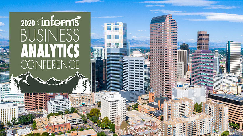 Join us in Denver for the 2020 Analytics Conference