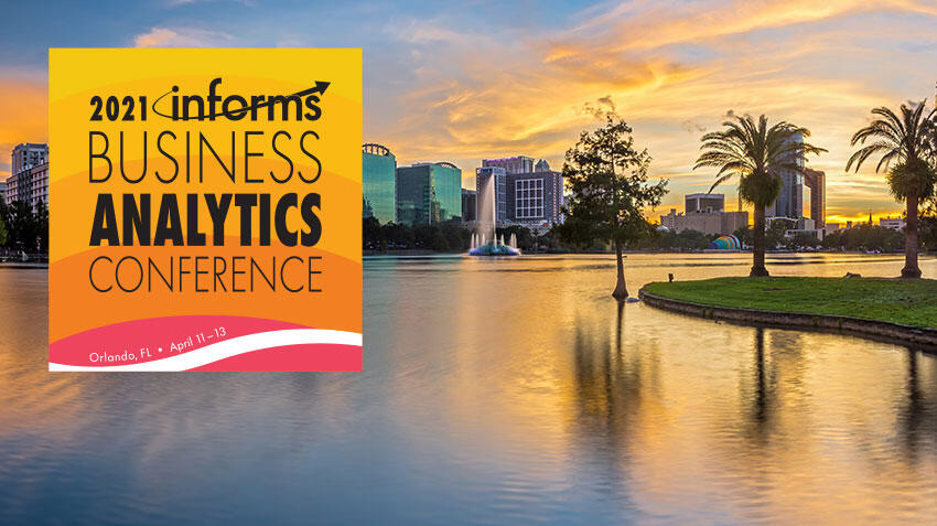 Join us in Orlando for the 2021 Analytics Conference
