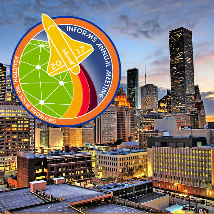 Join us in Houston for the 2017 INFORMS Annual Meeting