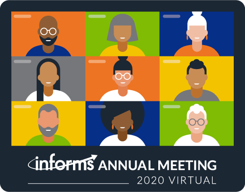 Join us for the INFORMS Virtual Annual Meeting 2020