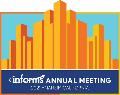 Join us for the INFORMS Annual Meeting 2021