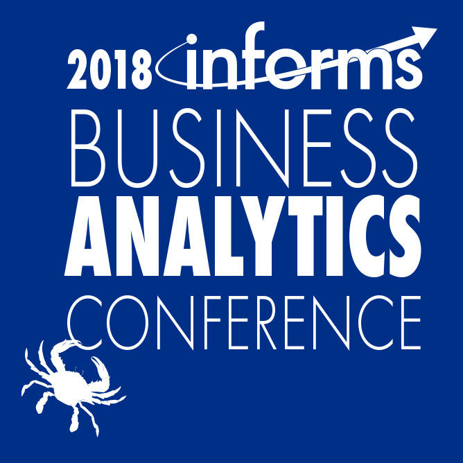 2018 INFORMS Business Conference on Analytics