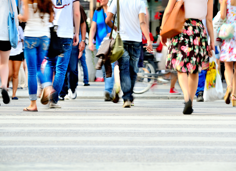 Two-Dimensional Approximate Godunov Scheme and What It Means For Continuum Pedestrian Flow Models