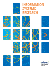 Information Systems Research cover