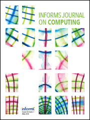 INFORMS Journal on Computing cover