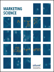 Marketing Science cover