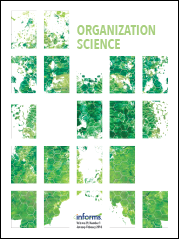 Organization Science cover