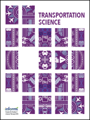 Transportation Science cover