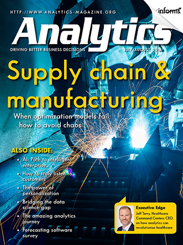 Analytics magazine current cover