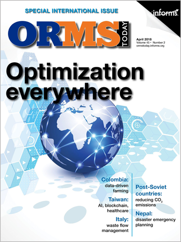 ORMS Today current cover