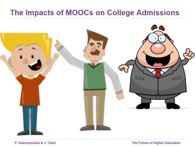 The Future of Higher Education: The Impact of MOOCs on College Admissions