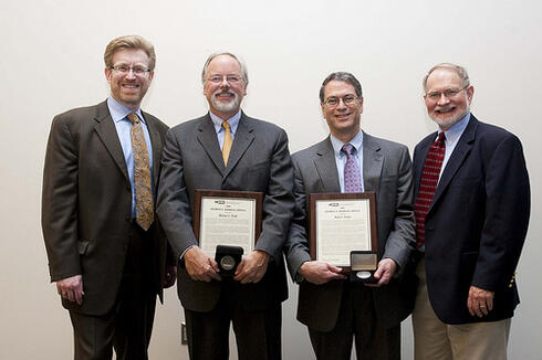 Mike Trick and Mark Daskin, 2009 Kimball Medal Awardees