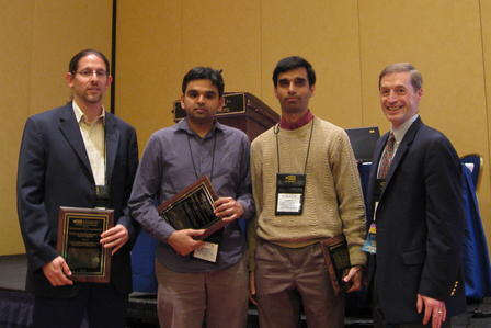 Retsef Levi, Ganesh Janakiraman, and Mahesh Nagarajan are selected as the winners of the 2008 INFORMS Optimization Society Young Researcher Prize