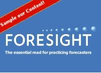 Foresight the essential read for practicing forecasters