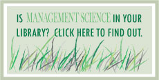 IS Management Science in your library?