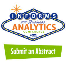 2017 Analytics Submit Abstract Promo