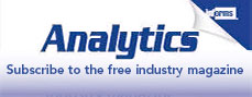Click here to subscribe to Analytics magazine