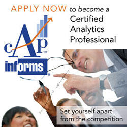 INFORMS Certified Analytics Professional