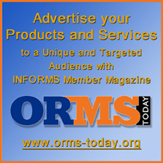 ORMS Today Display Advertising