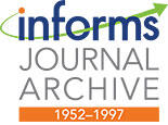 INFORMS_Journal_Archives_Banner