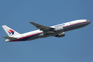 A Malaysia Airlines Boeing 777-200 similar to the one that disappeared
