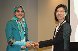 Fatemeh S. Hashemi and Seong-Hee Kim (l-r).