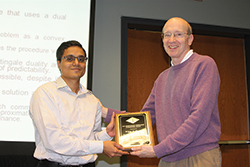 Vijay Desai and David Goldsman (l-r).