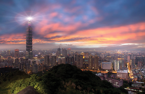 Taipei is the political, economic, educational and cultural center of Taiwan. Image © Chih Hsien Hang | 123rf.com