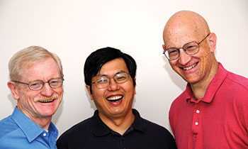 Gurobi founding fathers: Bob Bixby, Zonghao Gu and Ed Rothberg (l-r).