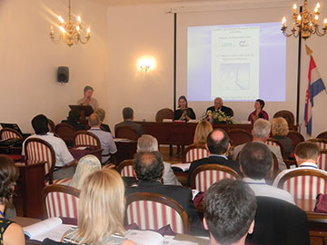 Opening ceremony of the 14th International Conference on Operational Research,  KOI 2012, Trogir, Croatia.