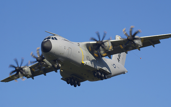 The French Army deployment problem involved a mix of land, air and sea transportation assets, including Airbus A400M aircraft (pictured above).