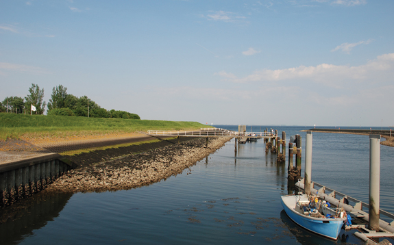 he Dutch Delta Program Commissioner's office is responsible for overseeing and maintaining a 3,500-kilometer system of primary dikes that protects the flood-prone Netherlands.