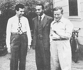 Kenneth Arrow, David Blackwell and Abraham Girshick