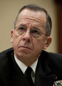 Adm. Mike Mullen, Chairman of the Joints Chiefs of Staff