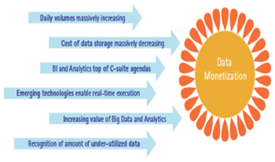 Figure 3: Data monetization.