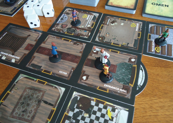 "Betrayal at House on the Hill is a semi-cooperative game because the ""bad guy"" isn't known at the outset"