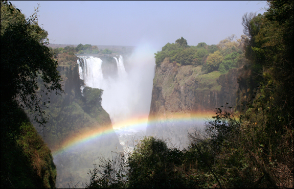 Victoria Falls provides a spectacular backdrop for the ORSSA Conference in Zimbabwe. Photo by Dave Evans.