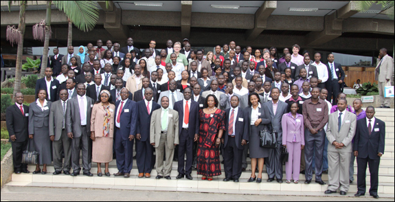 Delegates of the 7th Annual Operations Research Society of Eastern Africa International Conference gather at the Kenyatta International Conference Centre.