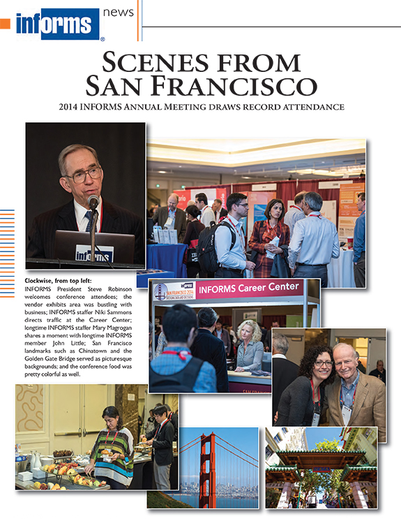 San Francisco  2014 INFORMS Annual Meeting