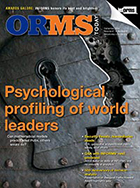 December ORMS Cover