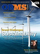 sustainability operations research