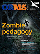 ORMS October 2015 Cover